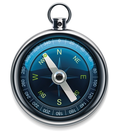 compass XXL detailed icon Vector
