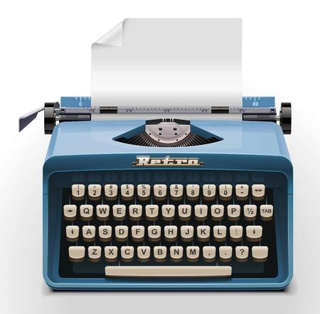 segretario: icona di macchina da scrivere XXL