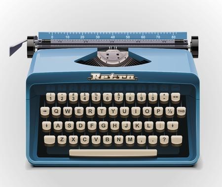 typewriter: typewriter XXL icon Illustration