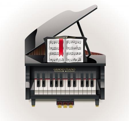 grand piano: Grand Piano XXL-Symbol