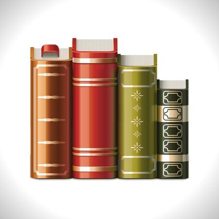 marcadores de libros: Icono de vector libros XXL