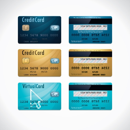 debit cards: credit cards
