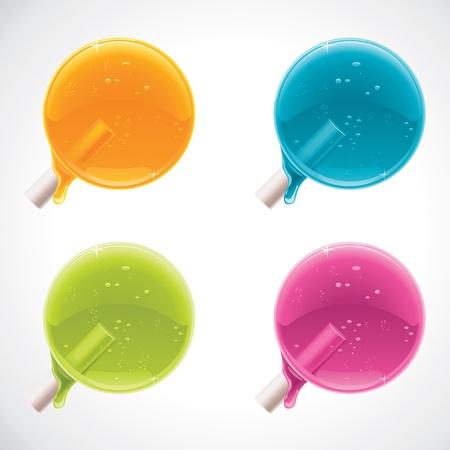 colorful lollipops Stock Vector - 11073692