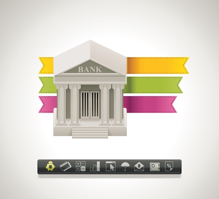 institution: Bank icon