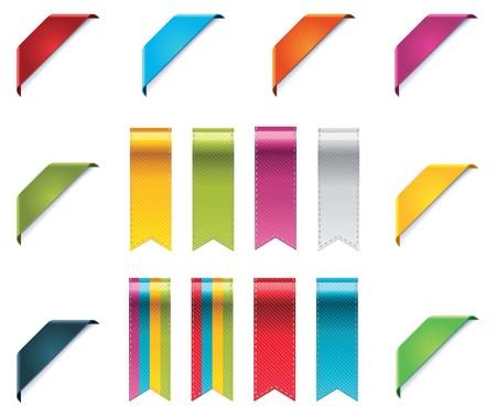 Ribbons set Stock Vector - 11153485