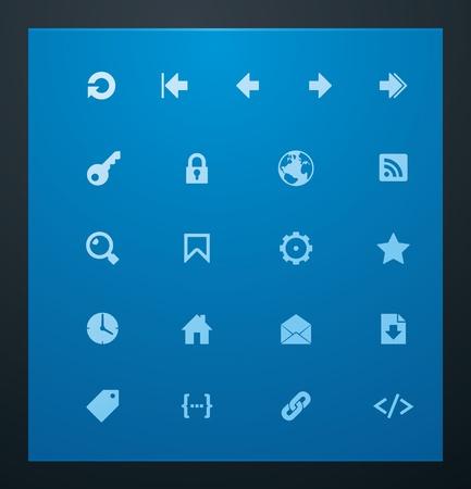css: Glifi universali 7. Web icone