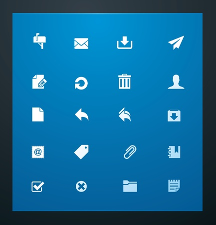 opfrissen: Universele symbolen 11. E-mail