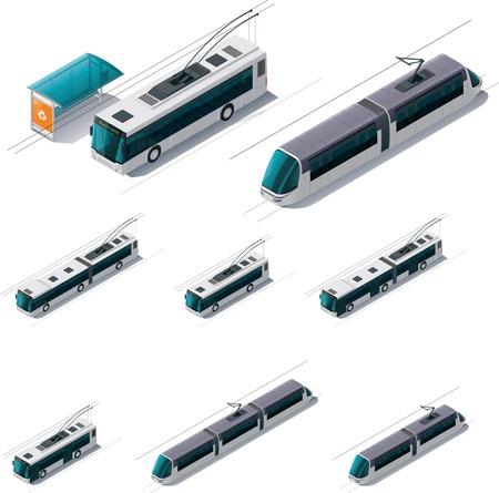 treno espresso: elettrica pubblica di trasporto