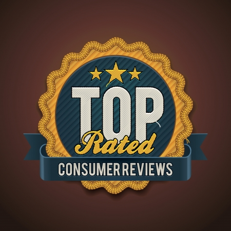 reviews: top rated badge