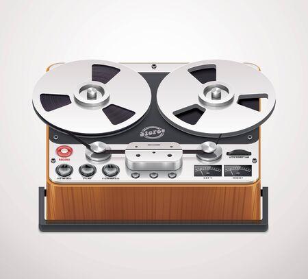 hifi: reel-to-reel recorder icon