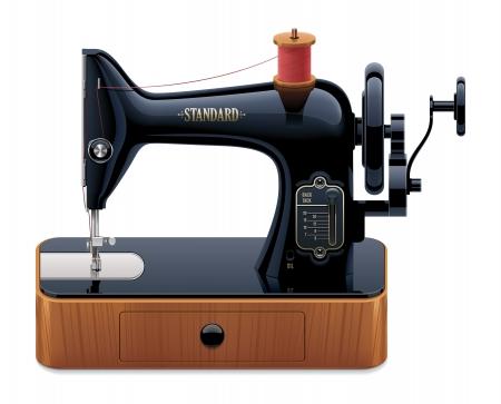 stitching machine: retro sewing machine