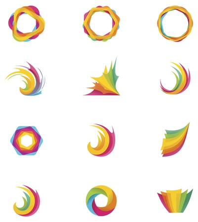 Vector abstract elements Stock Vector - 19940689