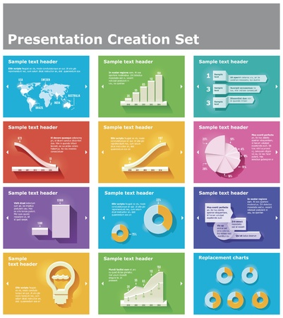 LINE: presentation elements