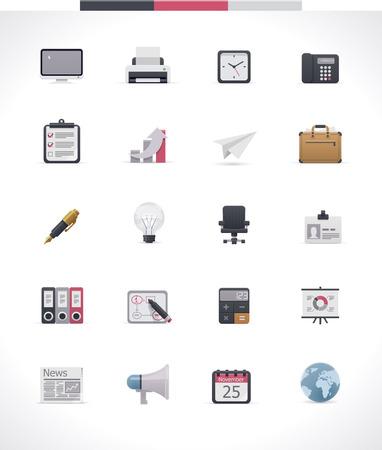 vacancies: Office icon set