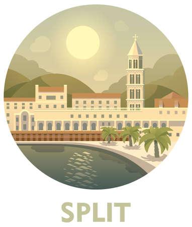 Travel destination Split