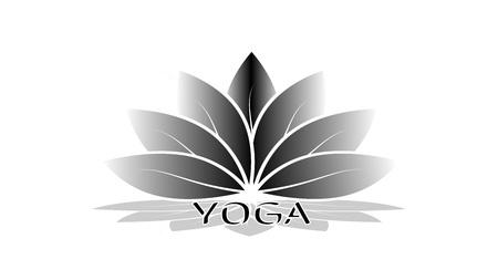 Yoga logo center - Logotype concept. Vector logo design for yoga studio or yoga center.