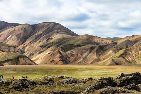 highlands: Highlands of Iceland in the summer Stock Photo