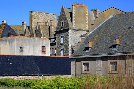 serf: Saint-Malo. Brittany. France
