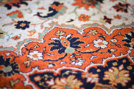 part of the pattern wool carpet