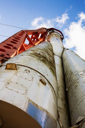 old Soviet rocket