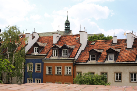 home of the old Warsaw