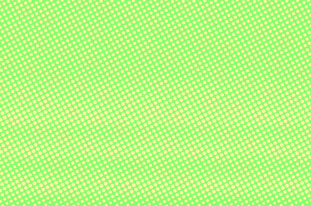 Green yellow dotted halftone. Horizontal rough dotted gradient. Half tone vector background. Abstract vivid texture. Yellow ink dot on green backdrop. Modern pop art design template. Halftone texture