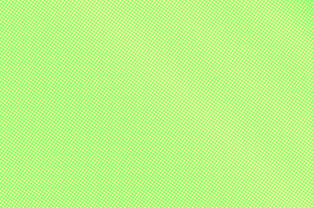 Green yellow dotted halftone. Vertical sparse dotted gradient. Half tone vector background. Abstract vivid texture. Yellow ink dot on green backdrop. Modern pop art design template. Halftone texture