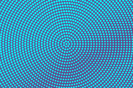 Blue violet dotted halftone background.