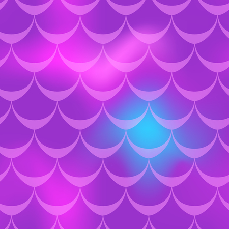 Violet blue mermaid skin vector background.