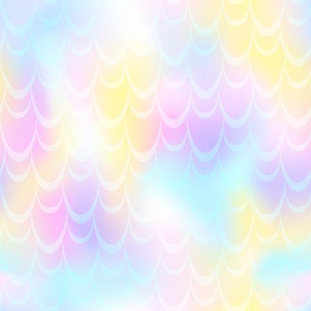 Pastel pink mermaid skin vector background.