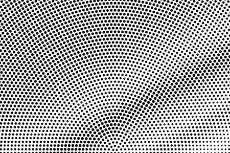 Black on white grunge halftone vector. Digital dotted texture. Dark dotwork gradient. Monochrome halftone overlay for cartoon effect. Perforated background in retro style. Ink dotwork surface