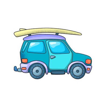 Off-roader and surfing board.