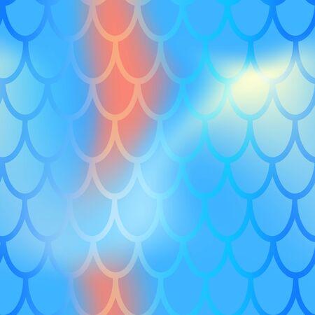 Mermaid or fish scale seamless pattern.