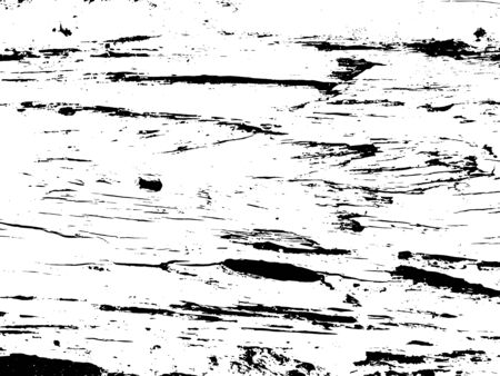 Wooden board texture vector on transparent background. Old lumber ornament. Cracked wooden textured overlay for vintage effect. Weathered and rough surface with grit and noise. Natural timber texture