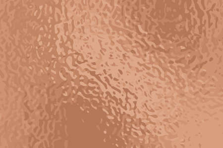 Dusty rose golden foil vector texture. Aged yellow rose gold surface for greeting card and luxury background. Wedding invitation backdrop. Shiny precious metallic with grunge pattern. Golden foil card