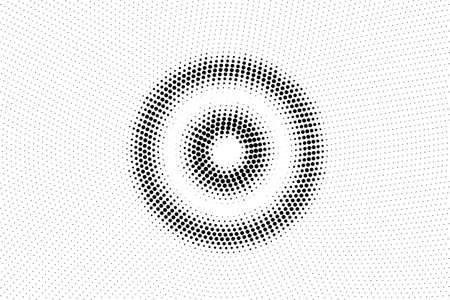 Black and white vector halftone. Subtle halftone digital texture. Faded dotted gradient. Comic effect overlay. Retro dot pattern on transparent back. 일러스트