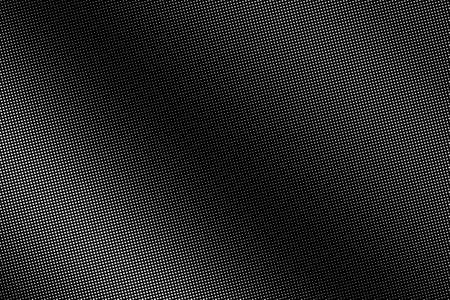 Black and white vector halftone. Subtle halftone digital texture. Faded dotted gradient. Comic effect overlay. Retro dot pattern on transparent back. Graphic halftone perforated texture. Dot pattern.