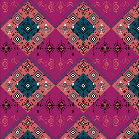 colorful abstract repeated pattern,tribal elements ,vector illistration.