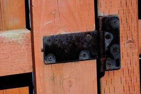 Old Fence Gate Hinge