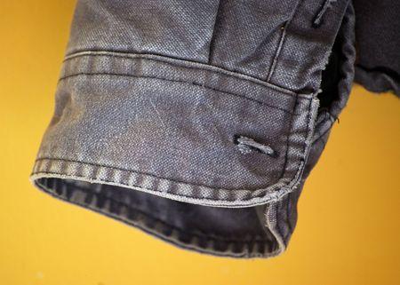 cuffs: Old Jacket Sleeve