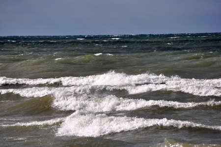 Waves on Lake Ontario