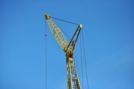 Large Construction Crane Reklamní fotografie