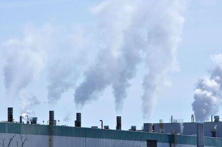 smokestack: Industrial Smokestack