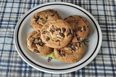 쿠키 접시 스톡 콘텐츠