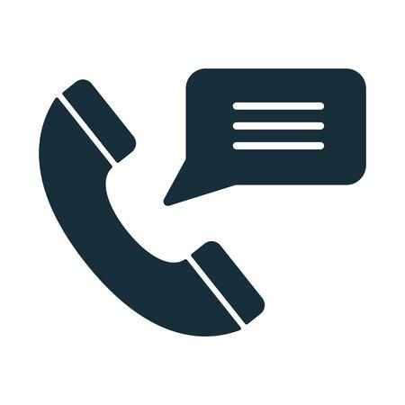 handset: handset message icon