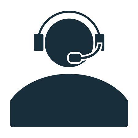 contact center: contact headphones call center