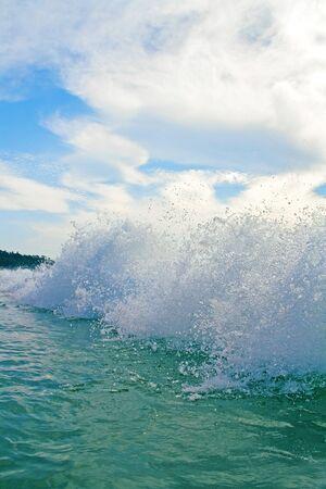Heavy wave photo