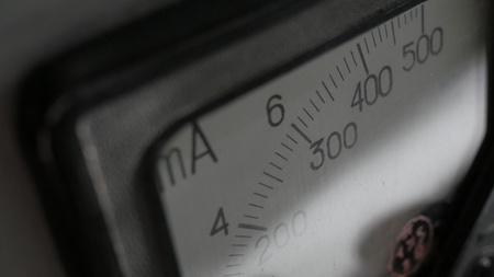 Old analog ammeter