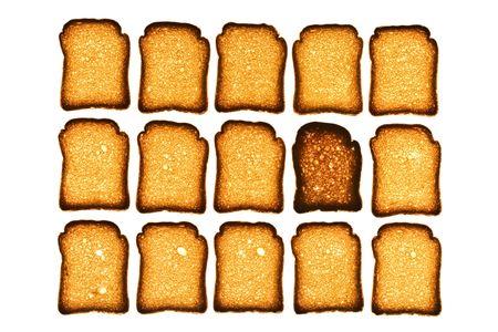biscotte: Plan des biscottes or Banque d'images