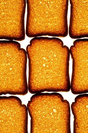 biscotte: Mod�le de biscotte dor Banque d'images